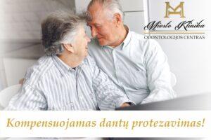 Kompensuojamas TLK protezavimas Miesto Klinikoje